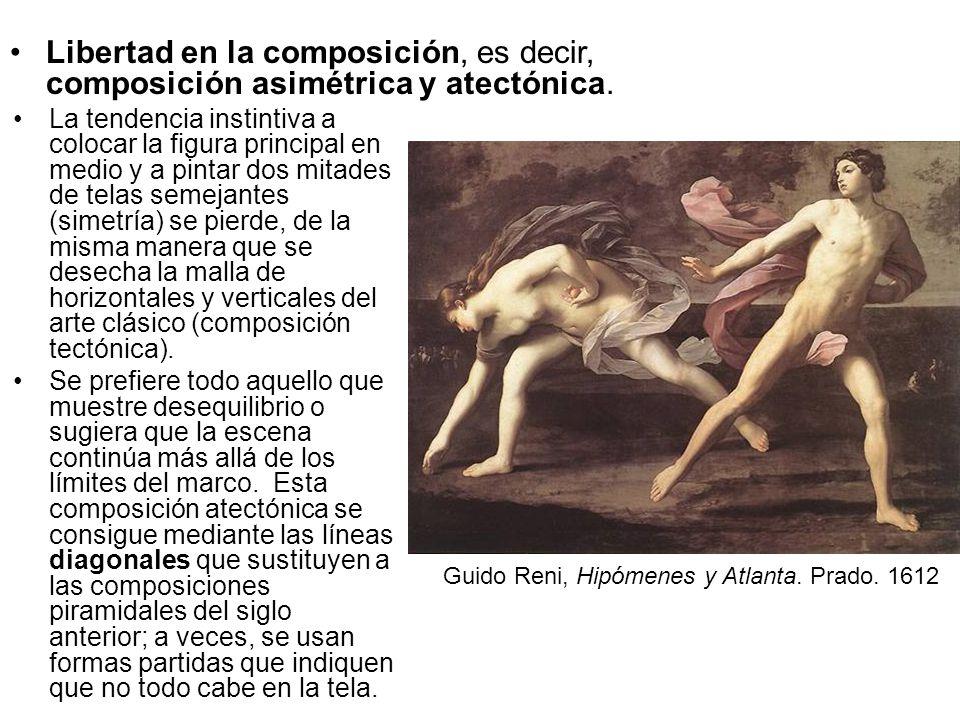 Libertad en la composición, es decir, composición asimétrica y atectónica.