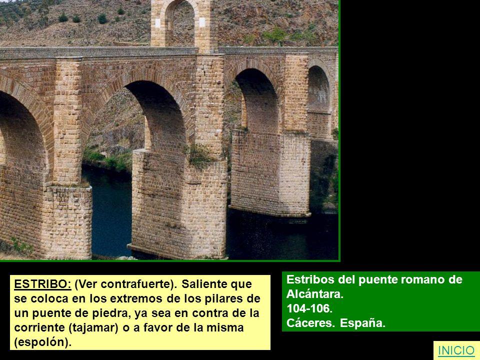Estribos del puente romano de
