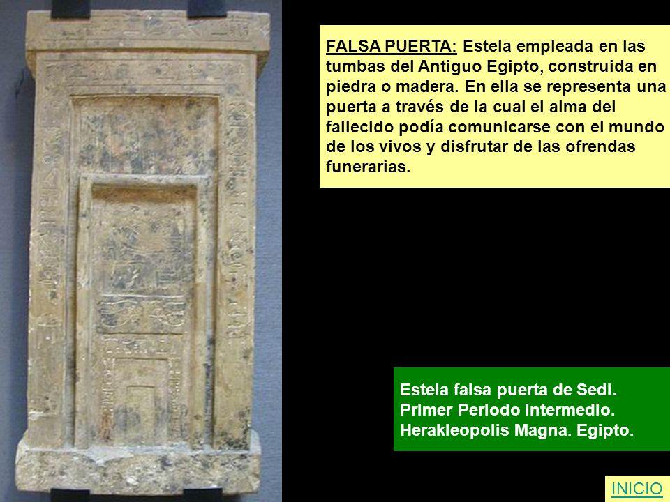 FALSA PUERTA: Estela empleada en las