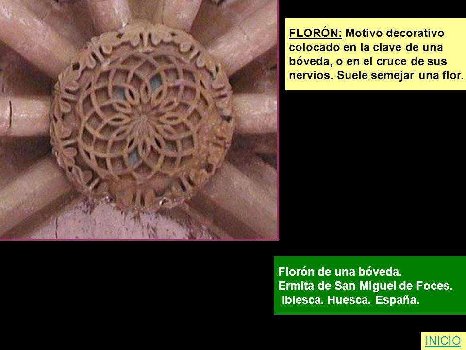FLORÓN: Motivo decorativo