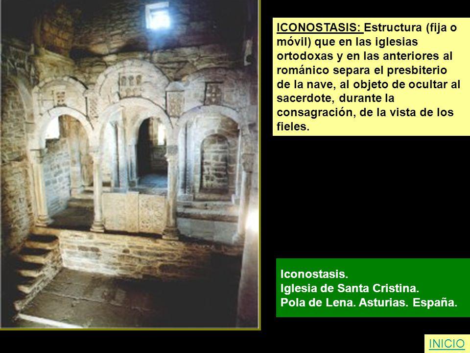 ICONOSTASIS: Estructura (fija o