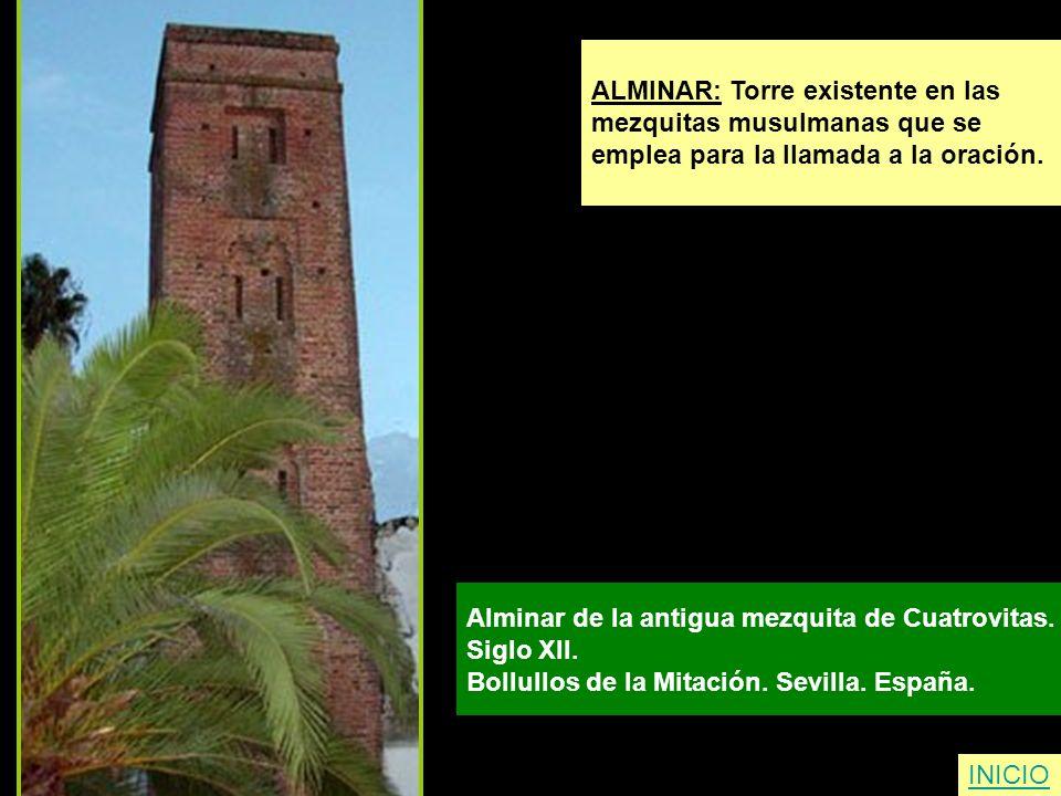 ALMINAR: Torre existente en las