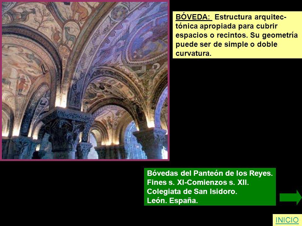 BÓVEDA: Estructura arquitec-