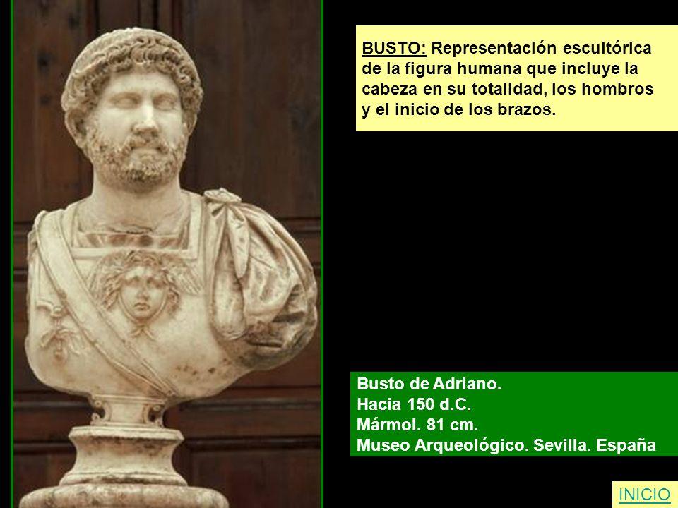 BUSTO: Representación escultórica