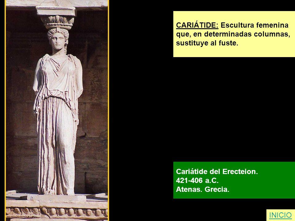 CARIÁTIDE: Escultura femenina