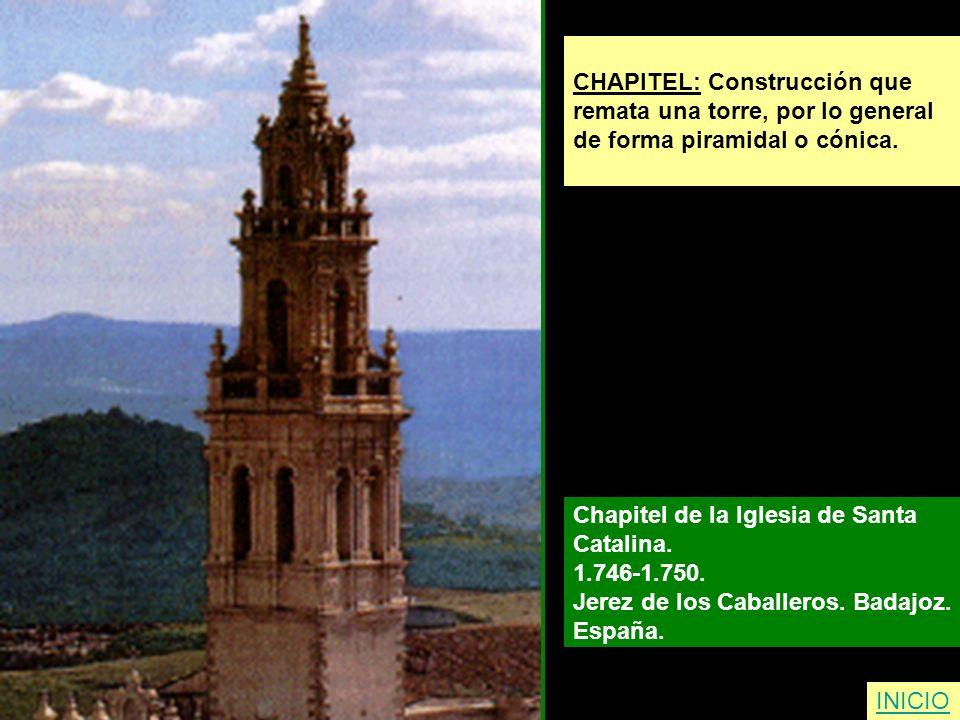 CHAPITEL: Construcción que