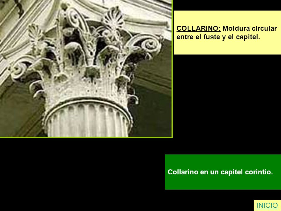COLLARINO: Moldura circular