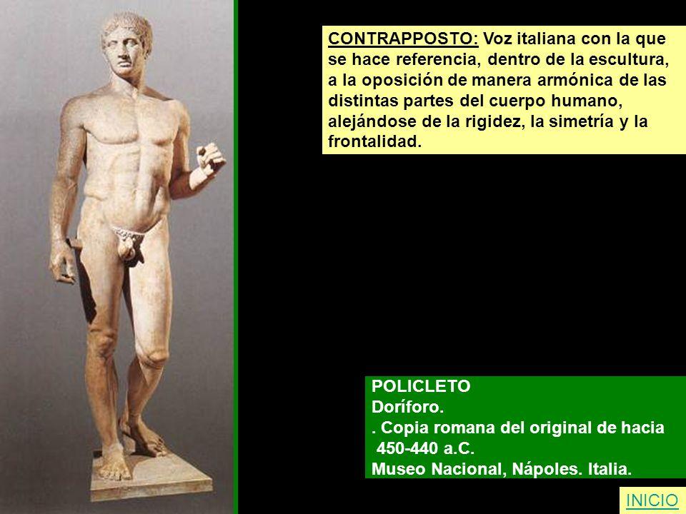 CONTRAPPOSTO: Voz italiana con la que