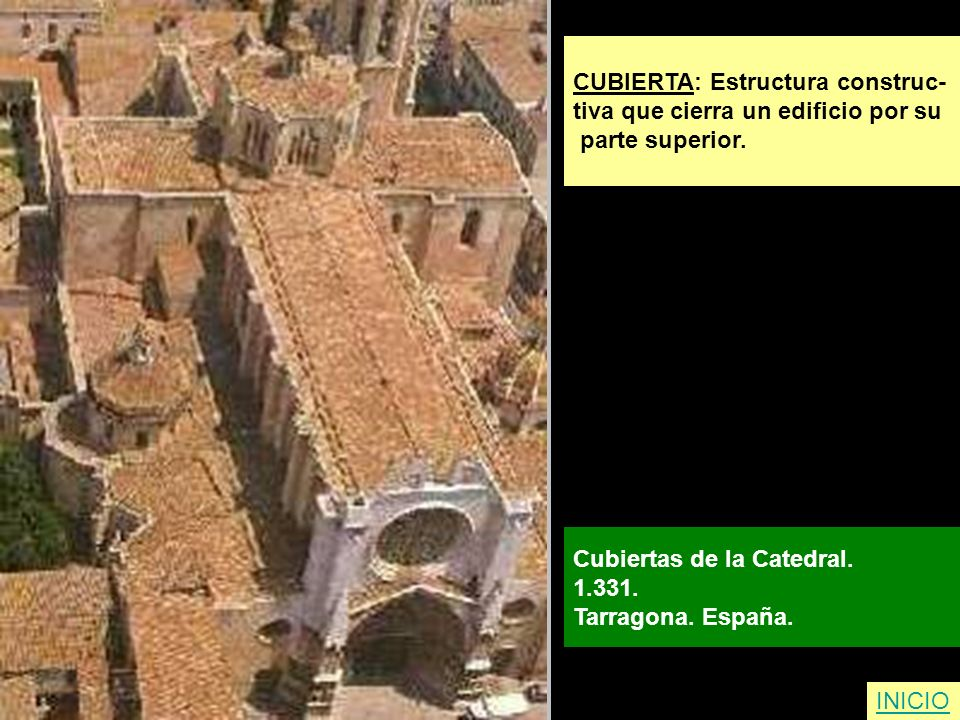 CUBIERTA: Estructura construc-