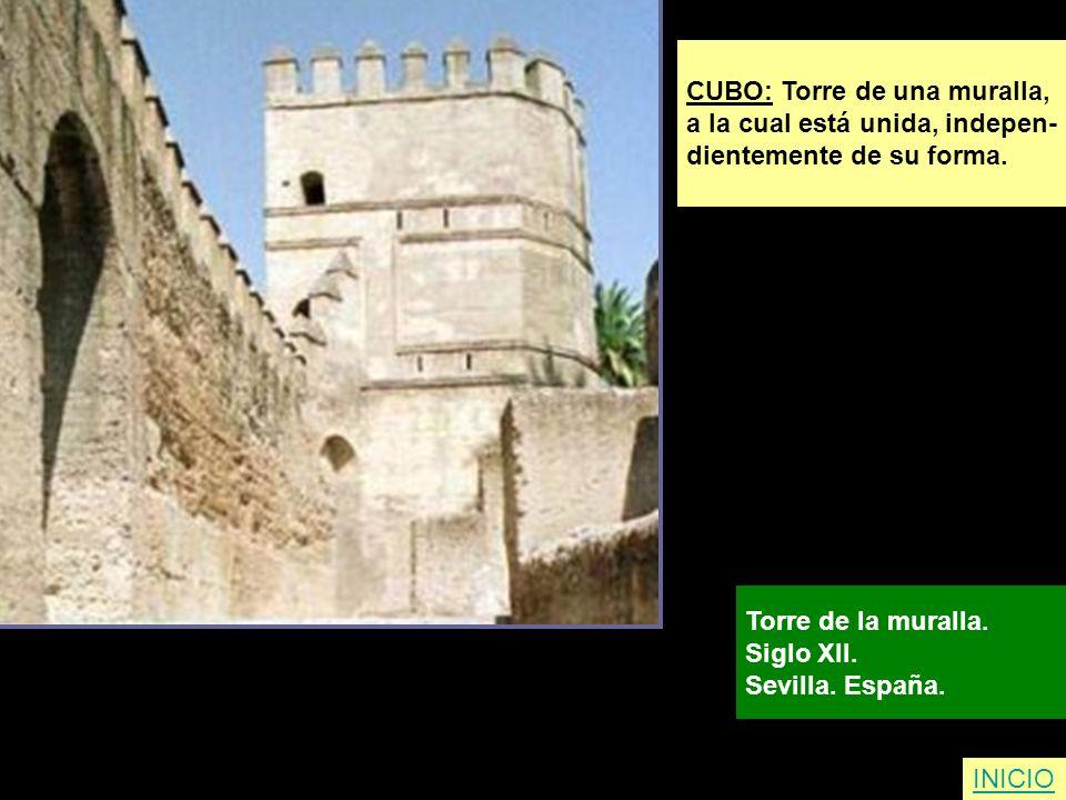 CUBO: Torre de una muralla,