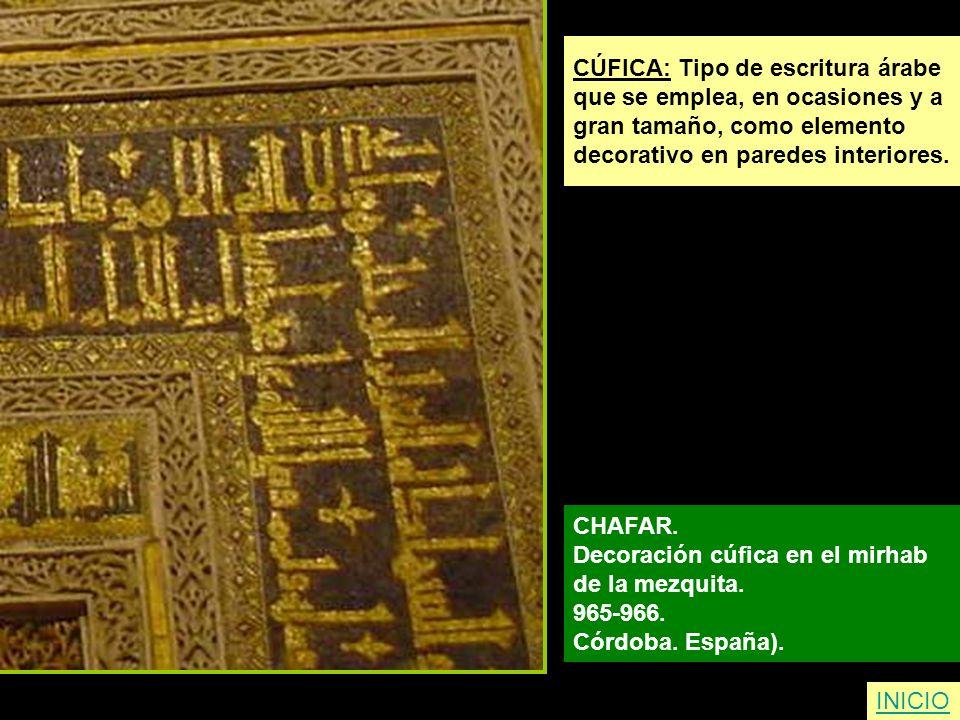 CÚFICA: Tipo de escritura árabe