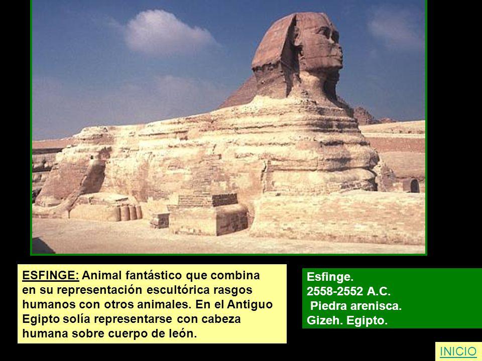 ESFINGE: Animal fantástico que combina