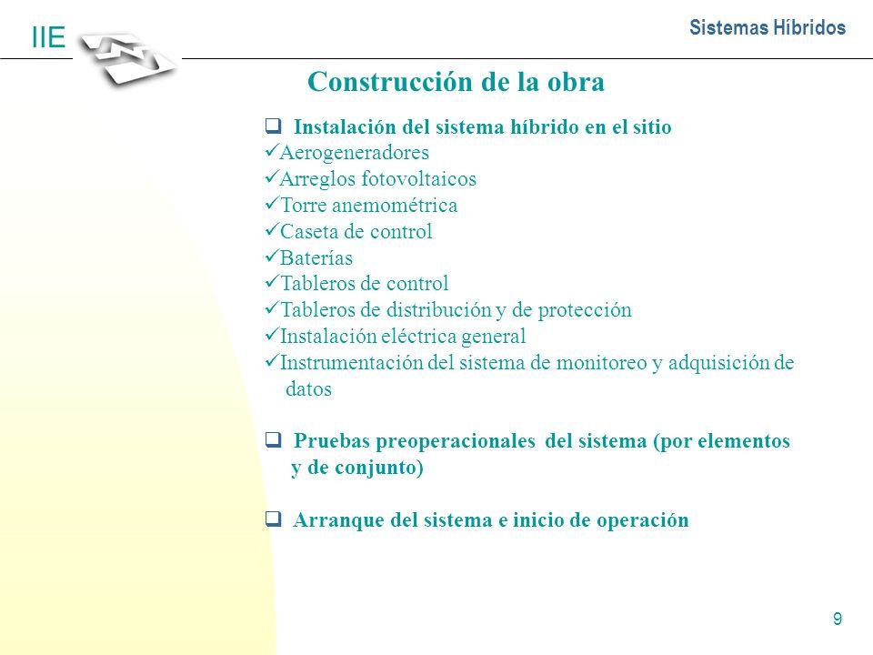 Construcción de la obra