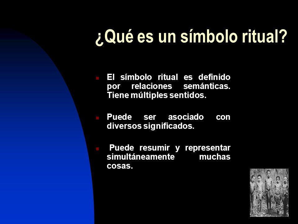 ¿Qué es un símbolo ritual