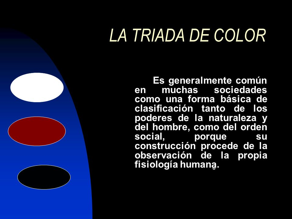 LA TRIADA DE COLOR