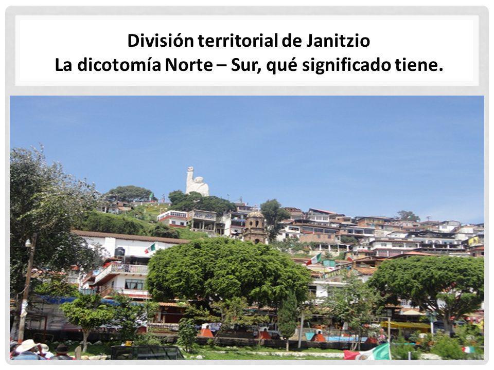 División territorial de Janitzio