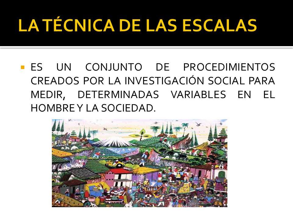 LA TÉCNICA DE LAS ESCALAS