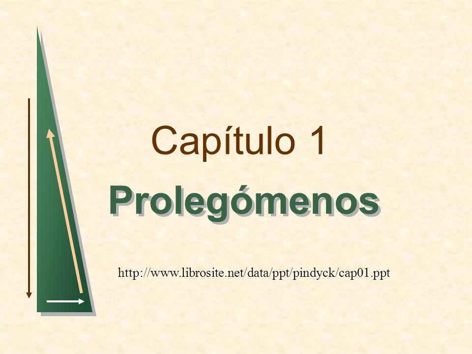 Capítulo 1 Prolegómenos