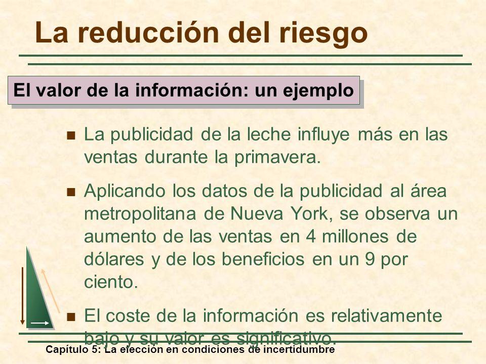 El valor de la información: un ejemplo