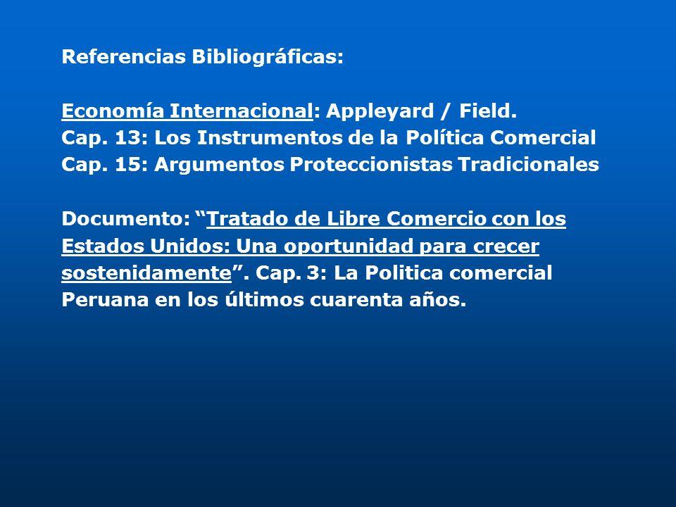 Referencias Bibliográficas: