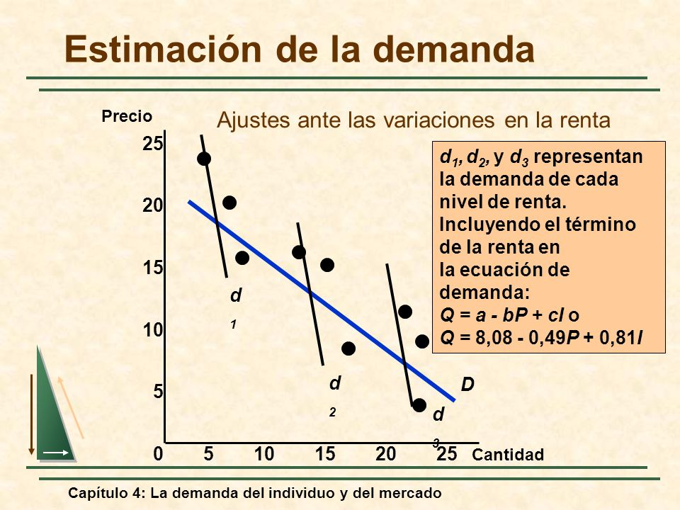 Estimación de la demanda