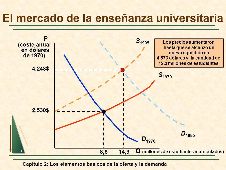 El mercado de la enseñanza universitaria