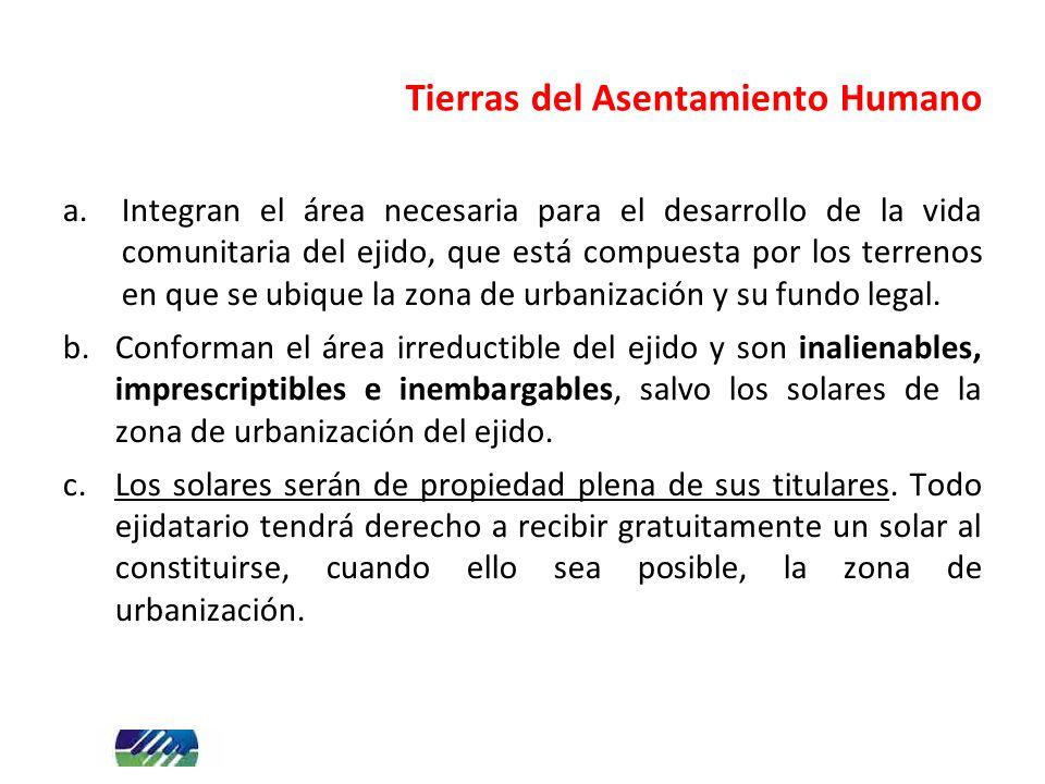 Tierras del Asentamiento Humano