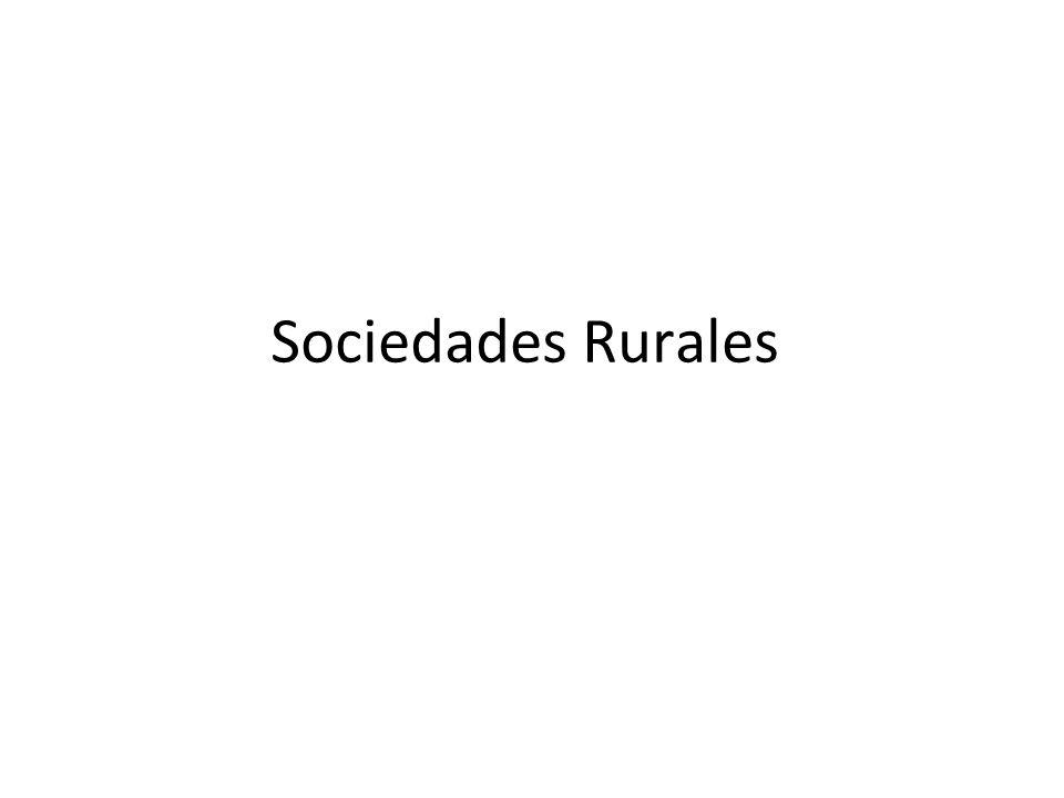 Sociedades Rurales