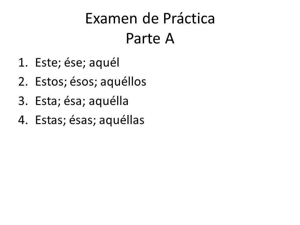 Examen de Práctica Parte A