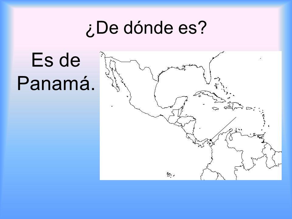¿De dónde es Es de Panamá.