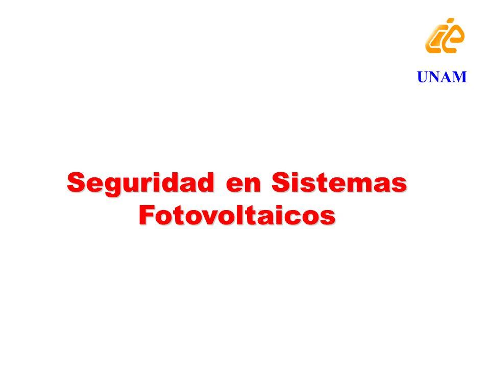 Seguridad en Sistemas Fotovoltaicos