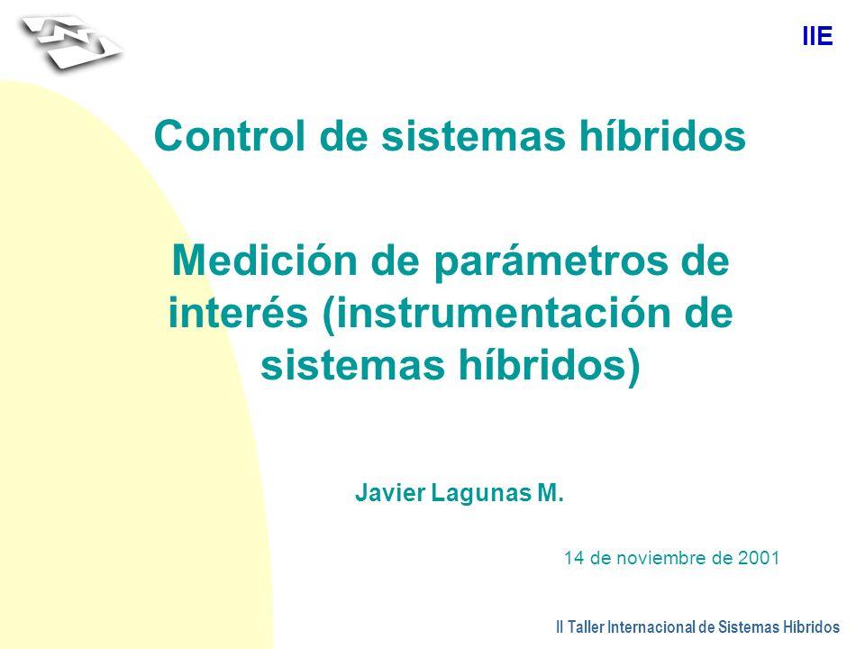 Control de sistemas híbridos