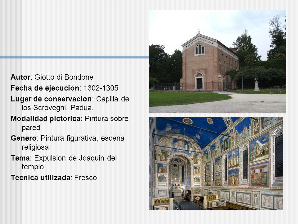 Autor: Giotto di Bondone