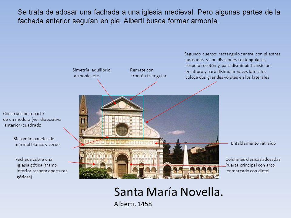 Se trata de adosar una fachada a una iglesia medieval