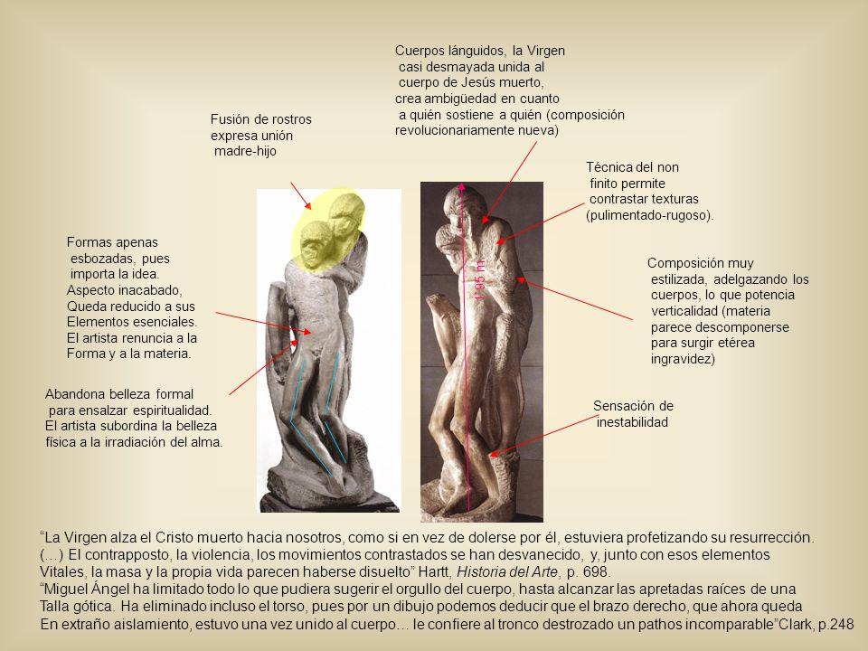 Cuerpos lánguidos, la Virgen