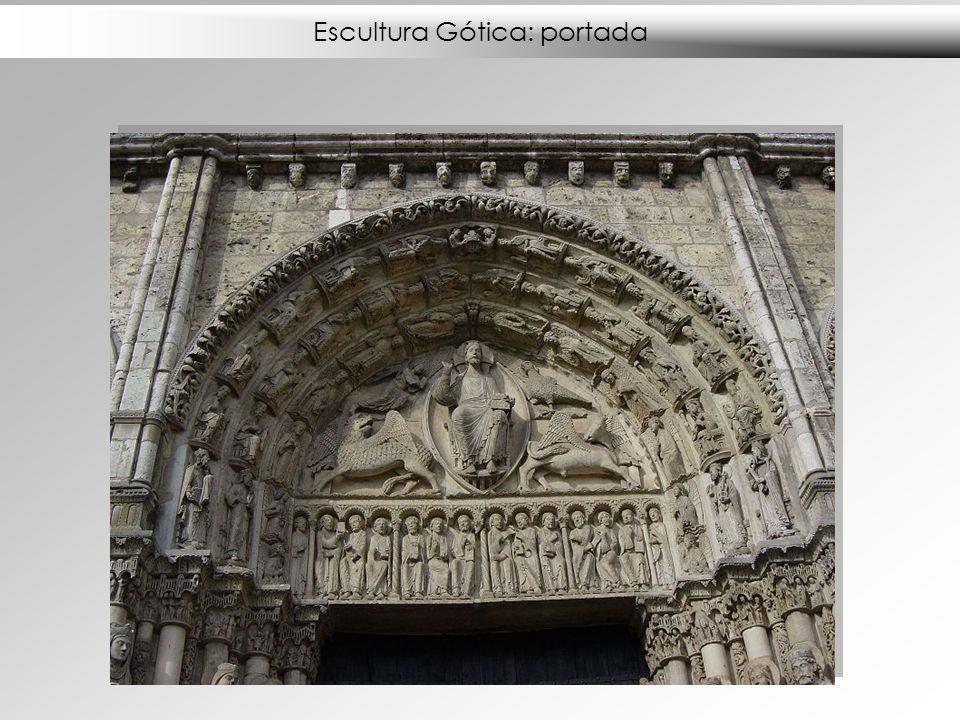 Escultura Gótica: portada