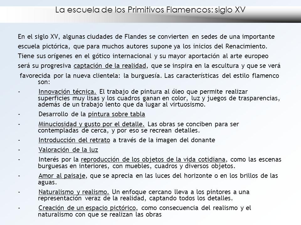 La escuela de los Primitivos Flamencos: siglo XV