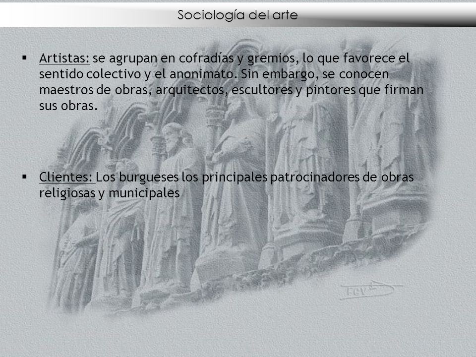 Sociología del arte