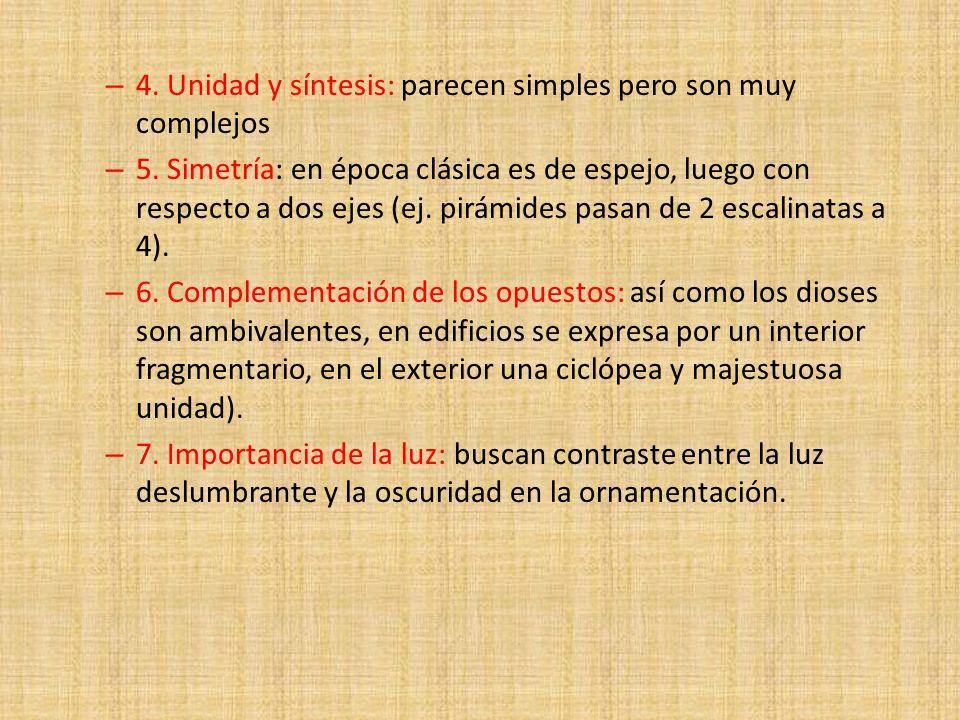 4. Unidad y síntesis: parecen simples pero son muy complejos