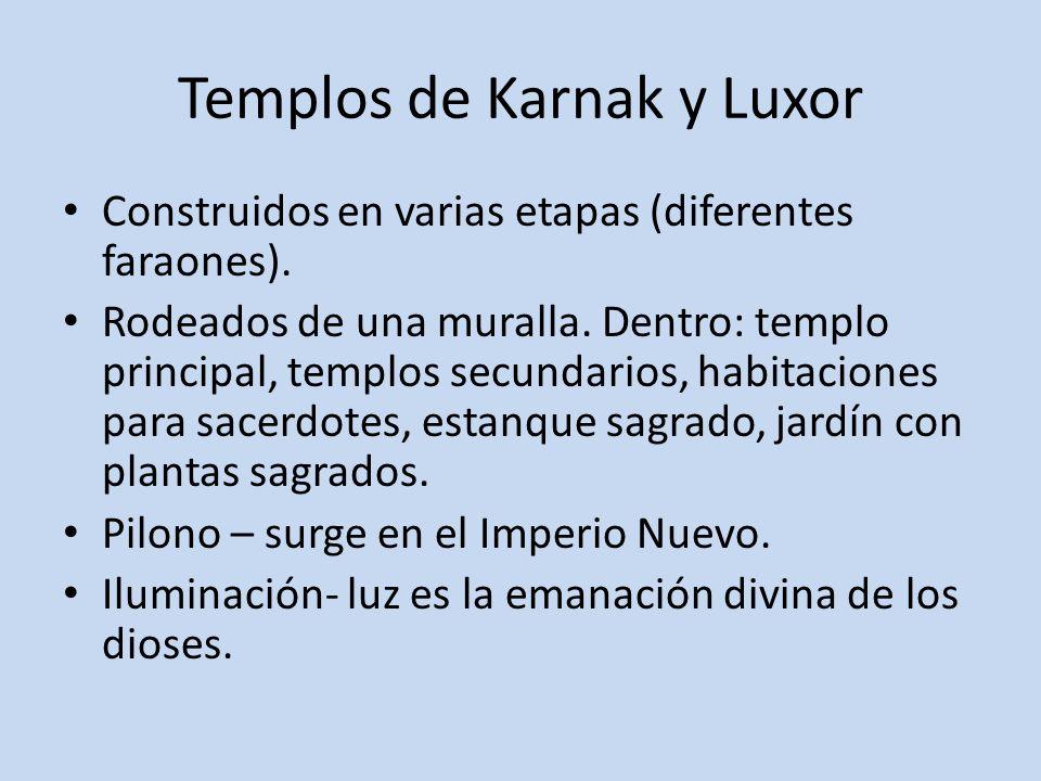 Templos de Karnak y Luxor