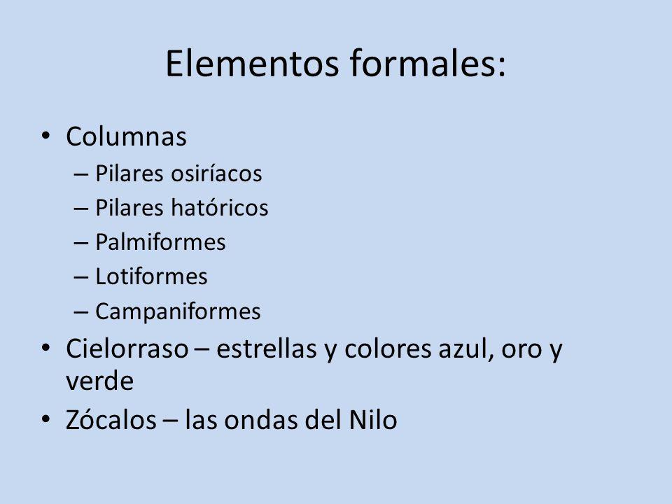 Elementos formales: Columnas