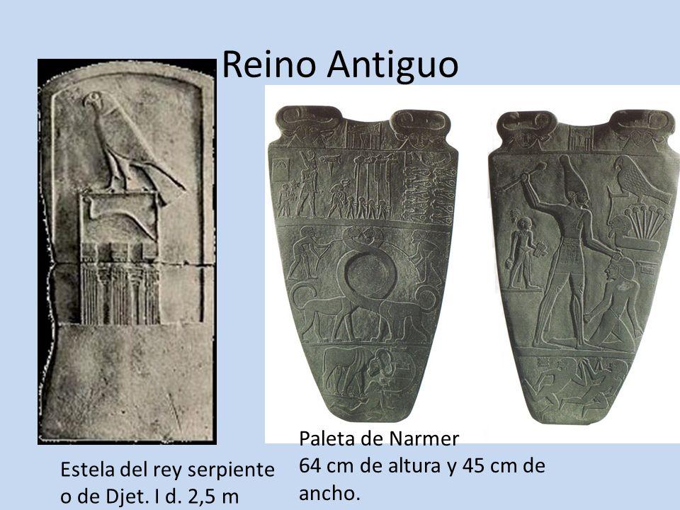 Reino Antiguo Paleta de Narmer 64 cm de altura y 45 cm de ancho.