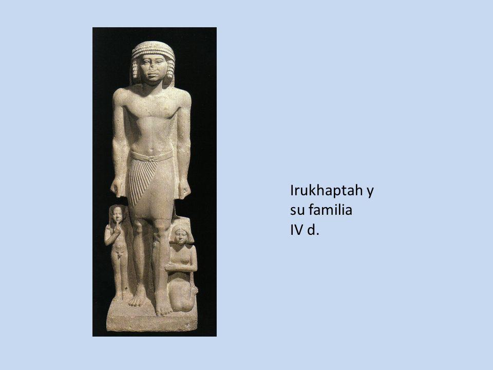 Irukhaptah y su familia