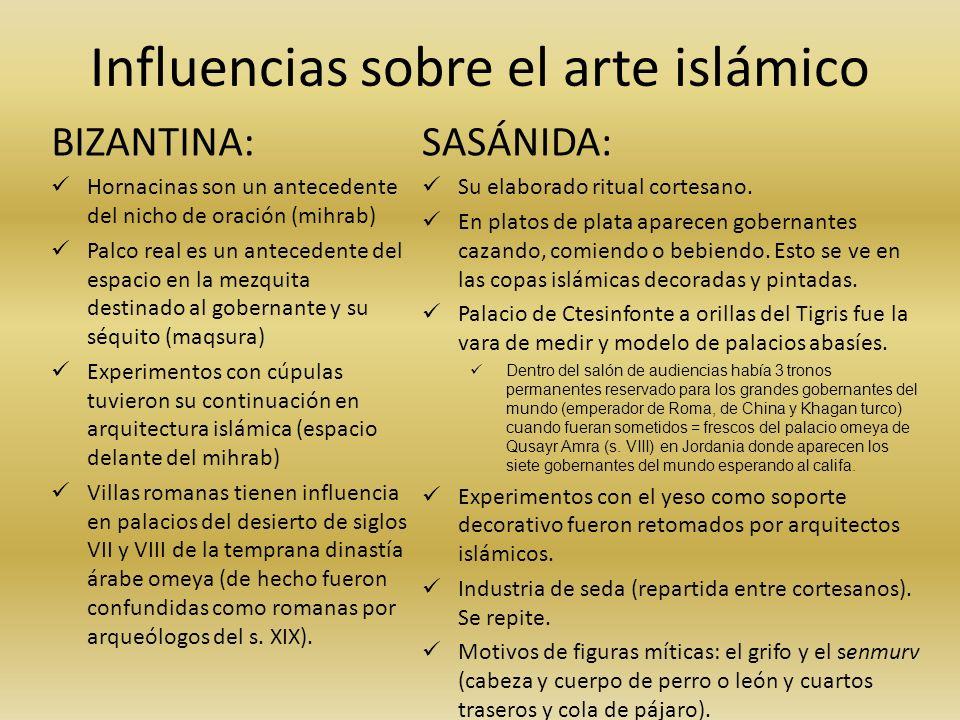Influencias sobre el arte islámico