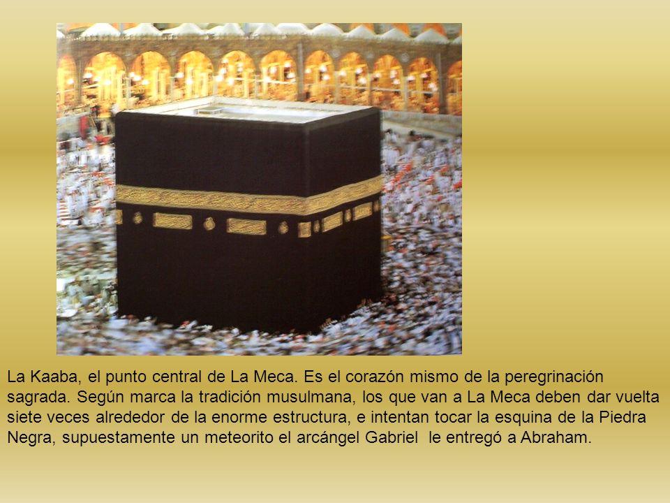 La Kaaba, el punto central de La Meca