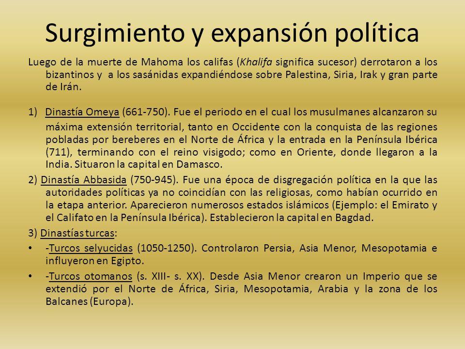 Surgimiento y expansión política