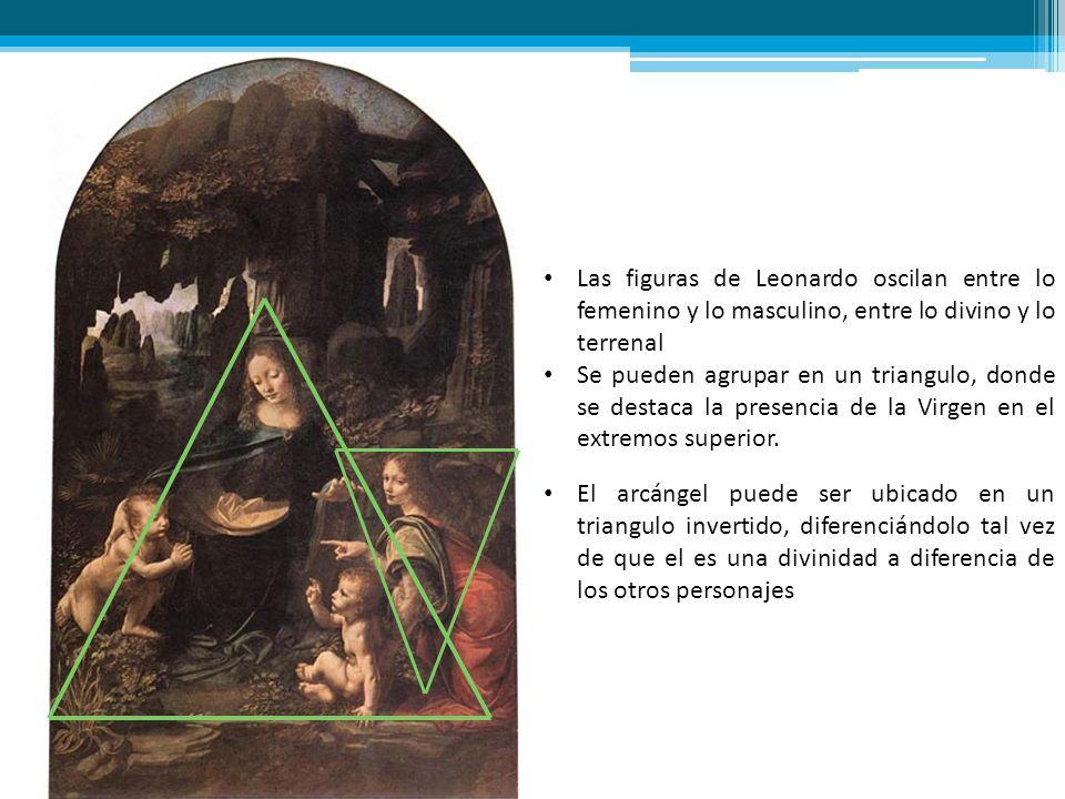 Las figuras de Leonardo oscilan entre lo femenino y lo masculino, entre lo divino y lo terrenal