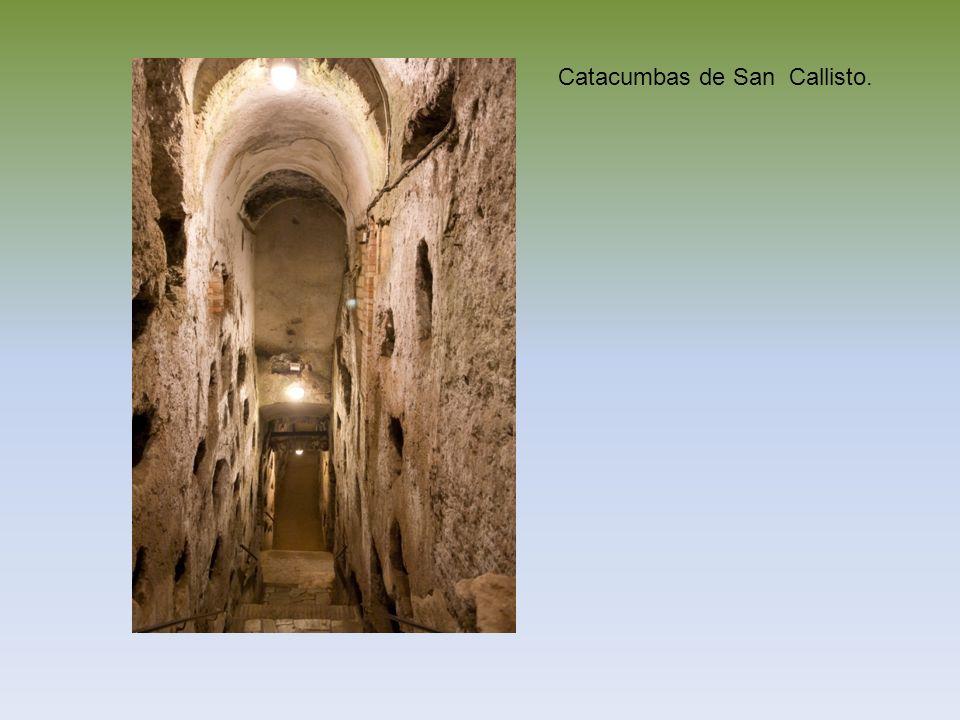 Catacumbas de San Callisto.