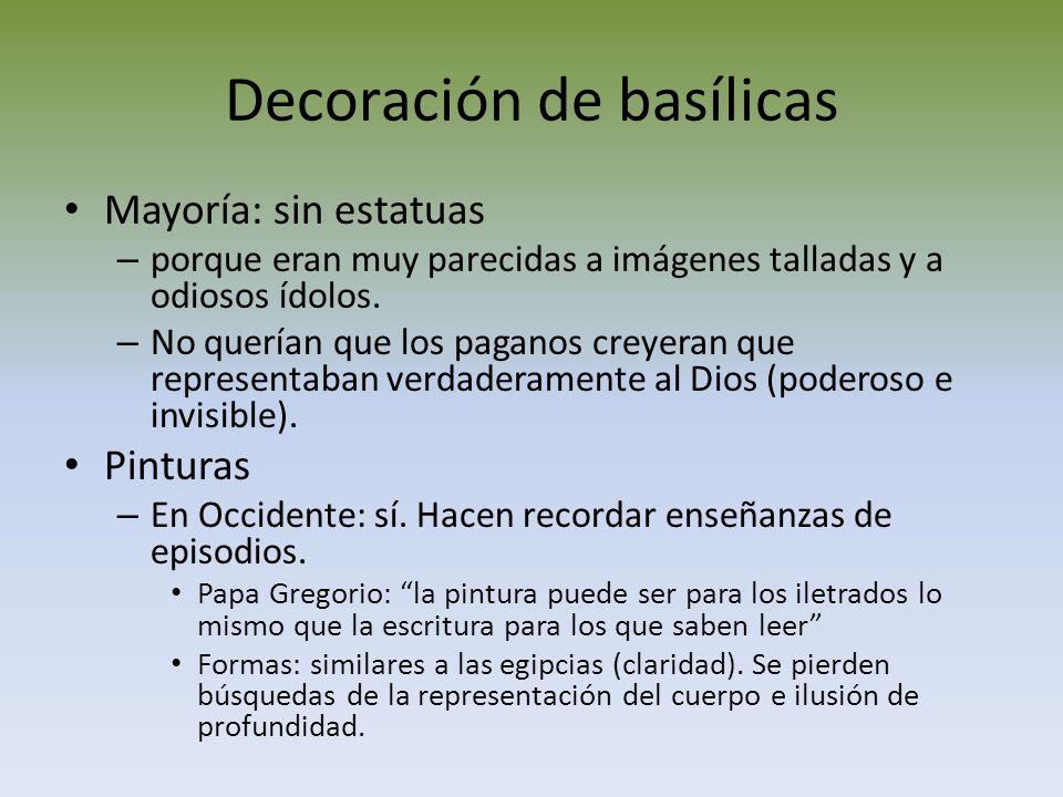 Decoración de basílicas