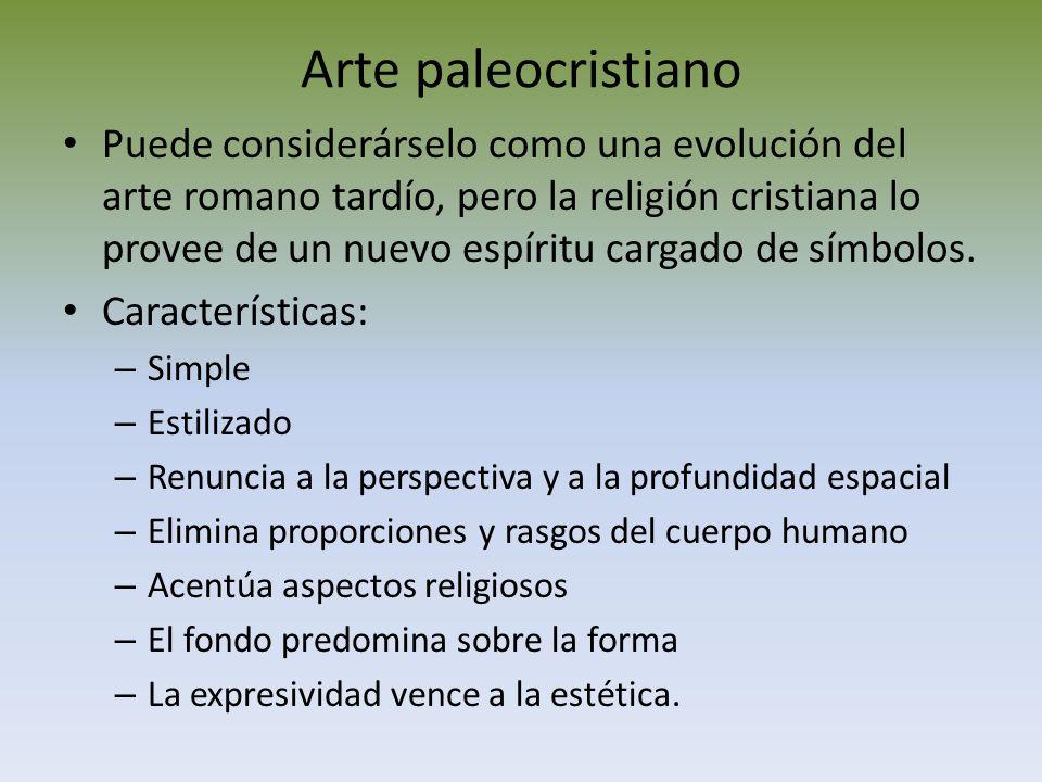 ARTE PALEOCRISTIANO Y BIZANTINO - ppt video online descargar
